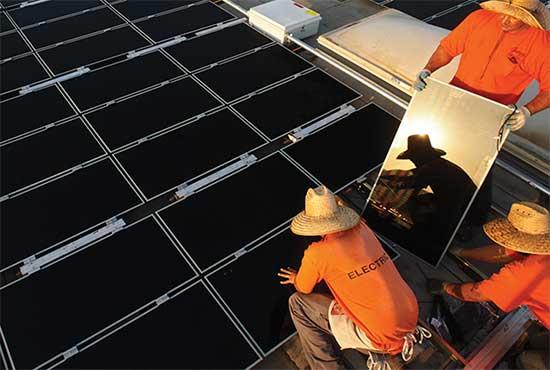 پروژه نصب سلول های خورشیدی و سیستم های حفاظت کاتدیک مخازن پالایشگاه گازی فازهای 22 و 24 پارس جنوبی