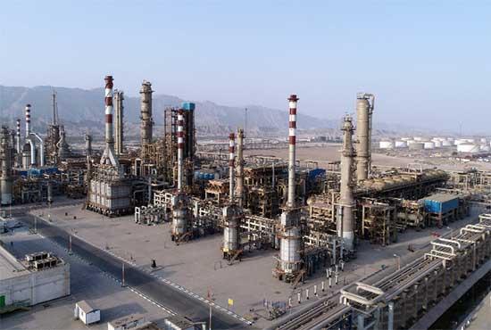 عملیات تکمیلی طرح افزایش ظرفیت تولید بنزین و گازوئیل و ارتقاء کیفیت محصولات شرکت پالایش نفت بندرعباس